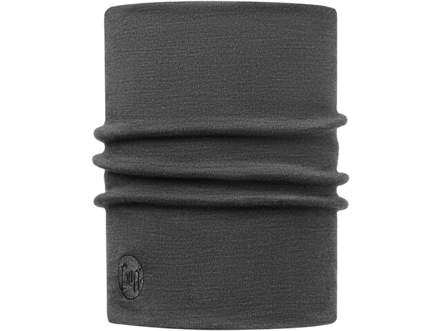 Buff Heavyweight Merino Wool Monikäyttöhuivi, solid grey